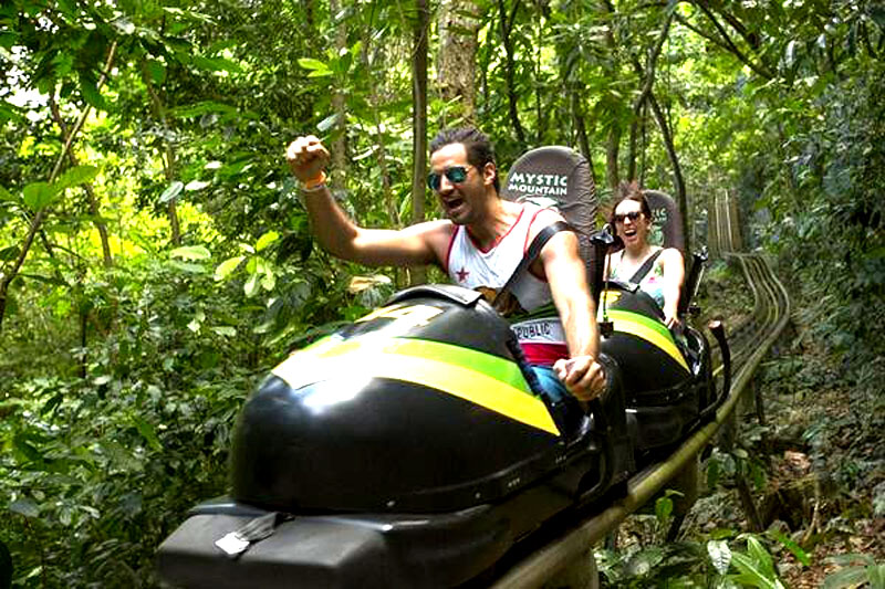 mystic mountain bobsled ride